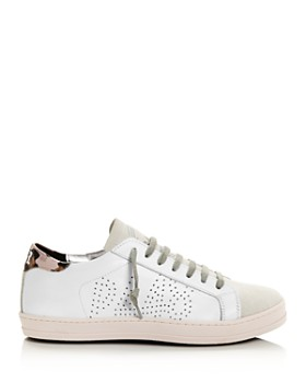 P448 - Women's John Low-Top Leather Sneakers