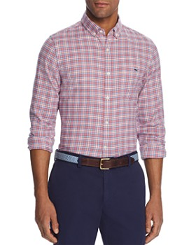 Vineyard Vines - Tucker Plaid Flannel Slim Fit Button-Down Shirt