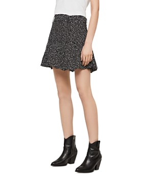 ALLSAINTS - Frida Splash Dot Print Skort