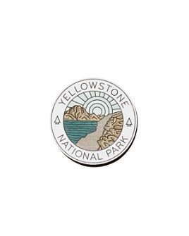 Parks Project - Yellowstone Sticker