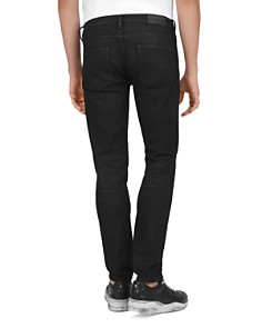 The Kooples - Straight Slim Fit Jeans in Black