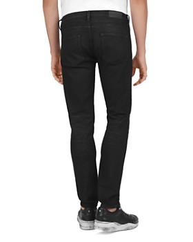 The Kooples - Straight Slim Fit Jeans in Black