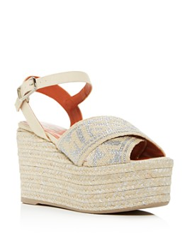Castañer - x Missoni Women's Engie Platform Wedge Espadrille Sandals