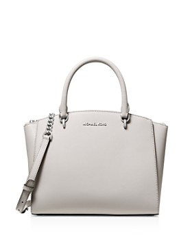 3a5f6eef1948b MICHAEL Michael Kors - Ellis Large Leather Satchel ...