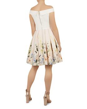 a45efa665273a ... Ted Baker - Oceanne Elegant-Print Dress