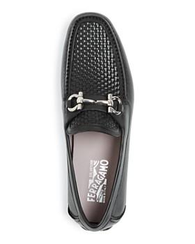 Salvatore Ferragamo - Men's Parigi Woven Leather Drivers