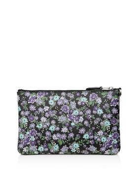 COACH - Small Posey Cluster Print Wristlet