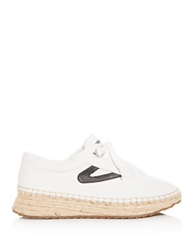 Tretorn - Women's Nave Low-Top Espadrille Platform Sneakers