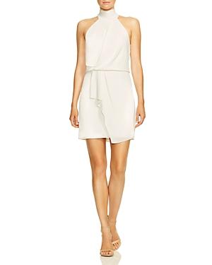 Halston Heritage Dresses MOCK-NECK MINI DRESS