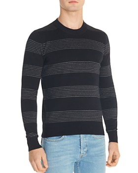 Sandro - Milano Striped Crewneck Sweater
