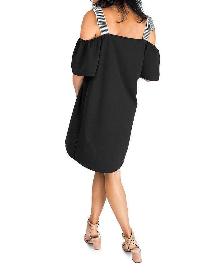 8577df206f2 Nom Maternity - Millie Cold-Shoulder Maternity Dress
