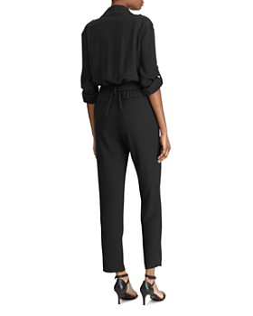 b06b29d567e ... Ralph Lauren - Double-Breasted Belted Jumpsuit