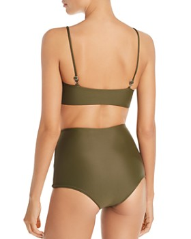 MIKOH - Menehune High-Waist Bikini Bottom