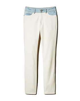 1d1ea3434b DL1961 - Farrow Color-Block High-Rise Skinny Jeans in Abis - 100% ...