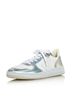 VEJA - Women's V-10 Metallic Low-Top Sneakers