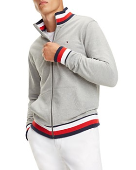 Tommy Hilfiger - Global Stripe-Trimmed Track Jacket