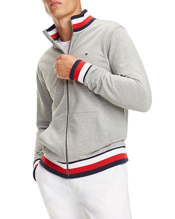 Tommy Hilfiger - Global Stripe-Trimmed Track Jacket