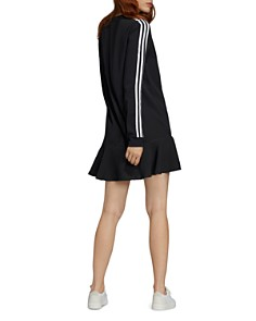 Adidas - Flounced Triple Stripe Dress
