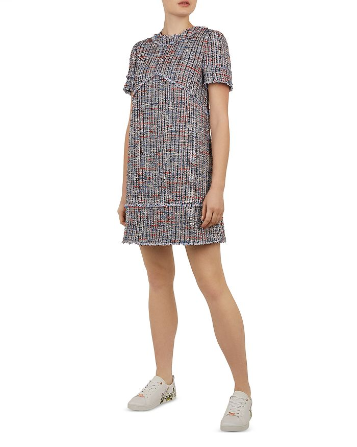 85170287a Ted Baker Ted Baker Working Title Yulited Bouclé Tunic Dress ...