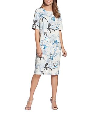 Basler Floral-Print Shift Dress