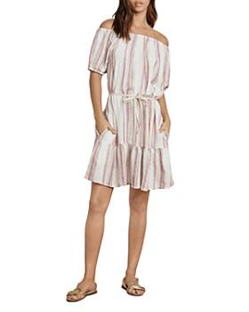 dced51022ba Velvet by Graham   Spencer - Cinthia Off-the-Shoulder Peasant Dress ...