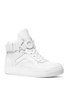 MICHAEL Michael Kors - Women's Cortlandt Leather High-Top Sneakers