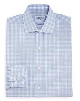 Ledbury - Quinton Check Slim Fit Dress Shirt