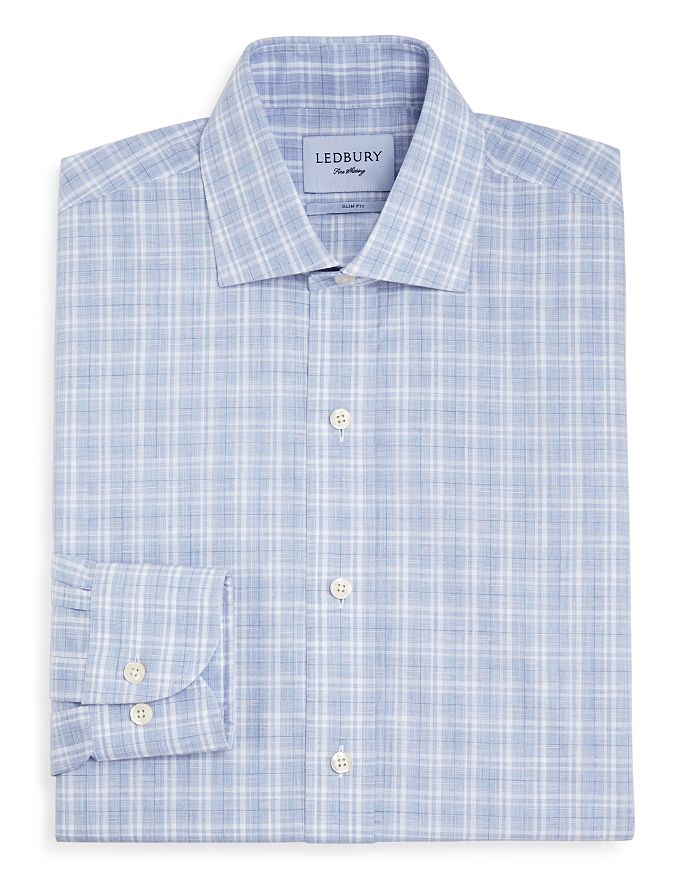 Ledbury - Quinton Check Slim Fit Dress Shirt