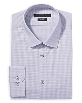 John Varvatos Star USA - Graph Check Slim Fit Dress Shirt
