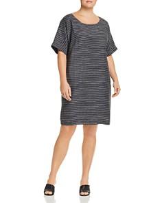 Eileen Fisher Plus - Striped Shift Dress