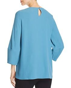 Eileen Fisher - Lantern-Sleeve Silk Tunic