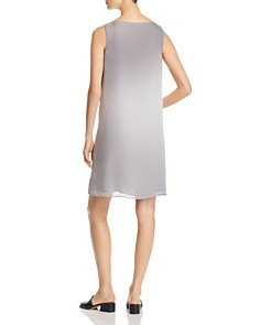 Eileen Fisher Petites - Sleeveless Silk Ombré Dress