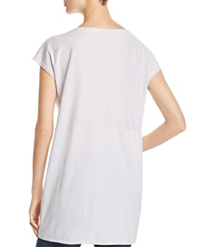 Eileen Fisher Petites - Organic Cotton Striped Tunic