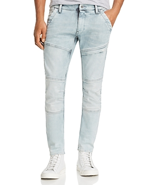 G-star Raw Rackam Skinny Fit Jeans in Ultra Light Aged