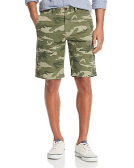 Flag & Anthem - Camouflage-Print XX Fit Shorts