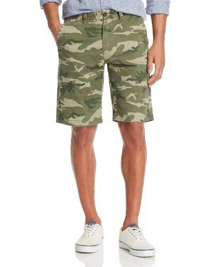 FLAG & ANTHEM | Flag & Anthem Camouflage-Print Regular Fit Shorts | Goxip