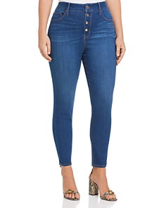 Seven7 Jeans Plus - High Rise Skinny Jeans in Harbor Wash