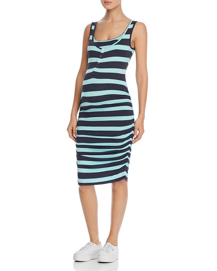 5d808c4396090 Nom Maternity Sleeveless Snap-Front Dress | Bloomingdale's