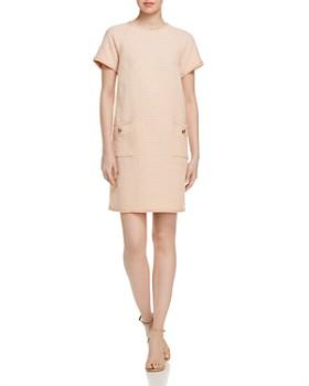 Marella - Eva Fringed Tweed Shift Dress