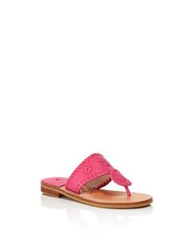 Jack Rogers - Girls' Miss Jacks Slide Leather Sandals - Little Kid, Big Kid