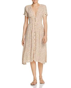 Faithfull the Brand - Billie Floral Midi Dress
