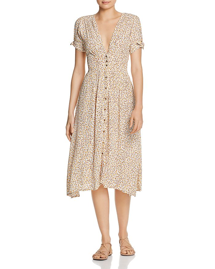 Faithfull the Brand - Billie Floral Midi Dress
