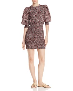 Rebecca Minkoff - Tabby Micro-Floral Mini Dress