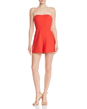 610687955b6 FRENCH CONNECTION - Whisper Sweetheart Romper ...