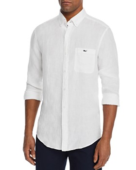 Vineyard Vines - Shipwrecker Linen Classic Fit Button-Down Shirt