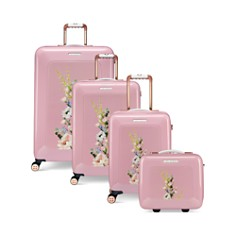 Ted Baker - Elegant Pink Luggage Collection