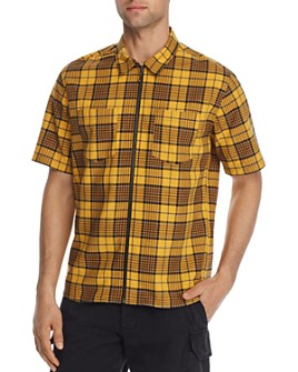 The Kooples - Vintage Neon Checked Regular Fit Shirt - 100% Exclusive