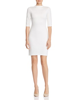 Alice and Olivia - Delora Mock-Neck Dress