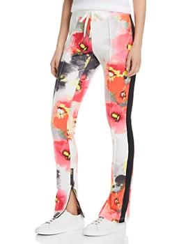 b5716c696acd PAM   GELA - Floral Cigarette Track Pants ...