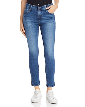 Ag Jeans FARRAH HIGH RISE ANKLE SKINNY JEANS IN CRYSTAL CLARITY